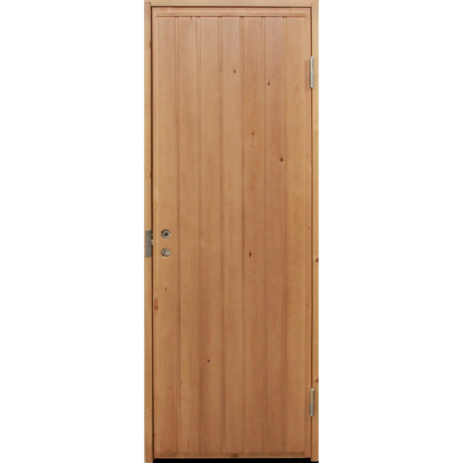 Mökki-ovi umpinainen
